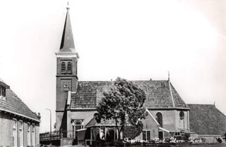 Ansichtkaart Schettens Ned. Hervormde Kerk Sneek HC4650