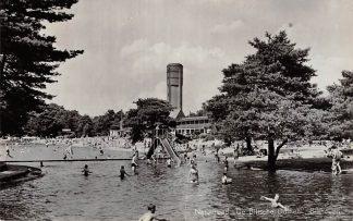 Ansichtkaart Bilthoven Natuurbad De Biltsche Duinen Watertoren Zwembad 1957 HC4660