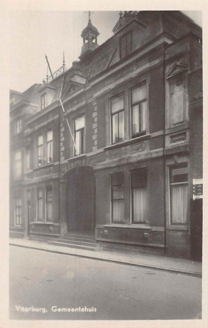 Ansichtkaart Voorburg Gemeentehuis HC4675