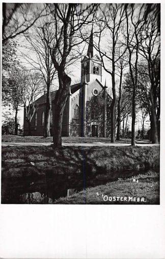 Ansichtkaart Oostermeer Fotokaart Kerk HC4684