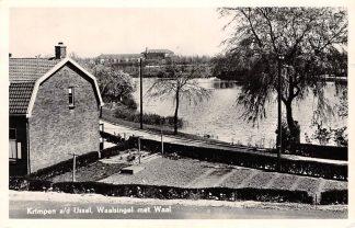 Ansichtkaart Krimpen aan den IJssel Waalsingel met Waal 1956 HC4701