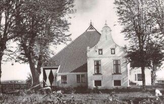 Ansichtkaart Leeuwarden Nieuwjaarskaart Fryske Akademy Ljouwert 1964 Boerderij in Gaasterland HC4702