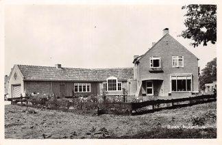 Ansichtkaart Buren (GD) Notarishuis 1956 Proefexemplaar Uitg. Jos-Pe met groot rood stempel Betuwe HC4721