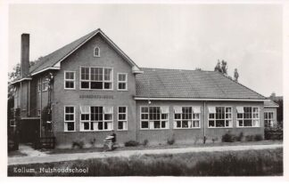 Ansichtkaart Kollum Huishoudschool 1949 School HC4744