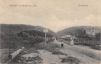 Ansichtkaart Wijk aan Zee Groet uit Hoogeweg HC4749