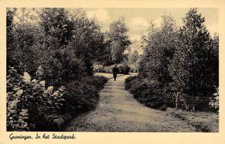 Ansichtkaart Groningen In het Stadspark 1943 HC4760