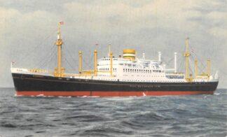Ansichtkaart Holland America Line M.V. Westerdam Scheepvaart Schepen Rotterdam HC4772