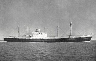 Ansichtkaart Holland America Line m.v. Kinderdyk Scheepvaart Schepen Rotterdam HC4781