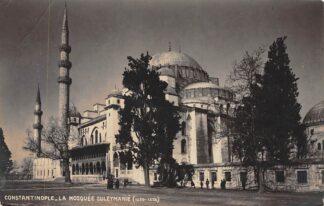 Ansichtkaart Constantinople La Mosquee Suleymanie 1927 Turkije Turkey HC4821