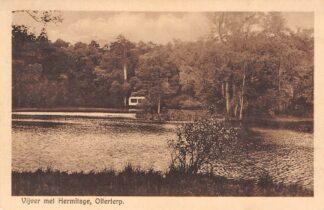 Ansichtkaart Olterterp Vijver met Hermitage 1928 Beetsterzwaag HC4825