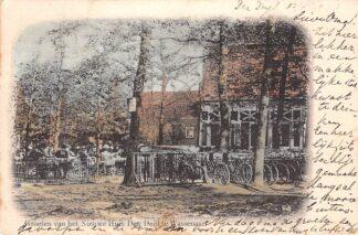 Ansichtkaart Wassenaar Groeten van het Nieuwe Huis Den Deijl HC4830
