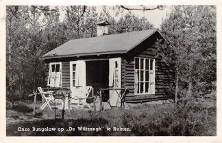 Ansichtkaart Ruinen Onze Bungalow op De Wiltzangh 1955 HC4838