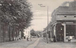 Ansichtkaart Vught Taalstraat met La Habanera 1913 HC4841