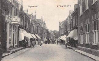 Ansichtkaart Purmerend Peperstraat 1910 HC4844