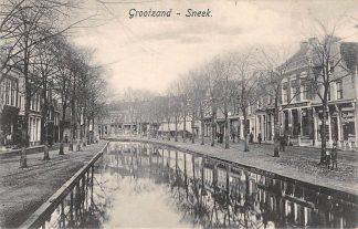 Ansichtkaart Sneek Grootzand 1919 HC4848
