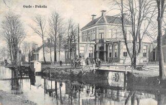 Ansichtkaart Oude Pekela Dorpsgezicht 1920 HC4852