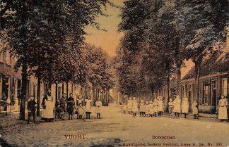 Ansichtkaart Vught Dorpstraat Berkers Verbunt Asten No. 393 HC4853