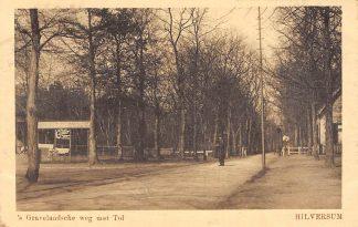 Ansichtkaart Hilversum 's-Gravelandsche weg met Tol HC4855