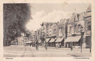 Ansichtkaart Hilversum 's-Gravelandscheweg 1918 HC4859