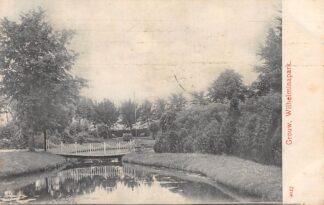 Ansichtkaart Grouw Wilhelminapark 1908 HC4863