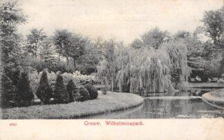 Ansichtkaart Grouw Wilhelminapark 1908 HC4864