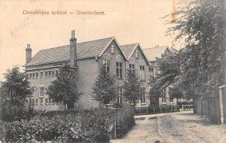Ansichtkaart Doetinchem Christelijke School 1922 HC4871