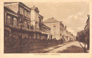 Ansichtkaart Doetinchem Van Nispenstraat Gymnasium School 1920 HC4873