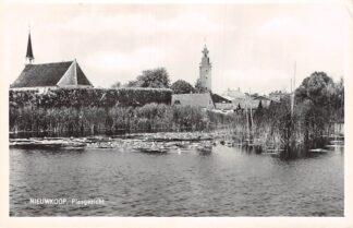 Ansichtkaart Nieuwkoop Plasgezicht op het Dorp 1960 HC4880