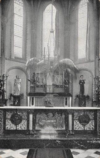 Ansichtkaart Seppe Bosschenhoofd Etten-Leur St. Gerardus Retraitehuis Altaar en Communiebank 1920 HC4899