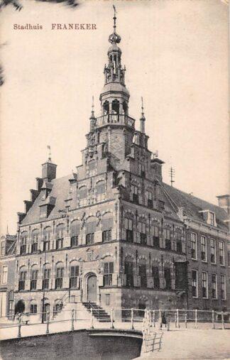 Ansichtkaart Franeker Stadhuis 1919 HC4910