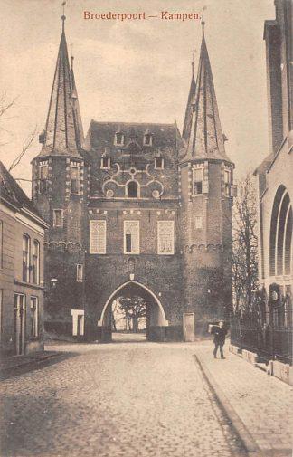Ansichtkaart Kampen Broederpoort HC4911