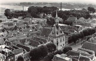 Ansichtkaart Schoonhoven Panorama 1963 De Gruijter HC4921