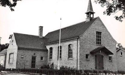 Ansichtkaart Haastrecht Kerk Nederlands Hervormde Evangelisatie 1961 HC4929