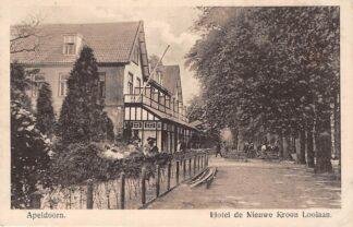 Ansichtkaart Apeldoorn Hotel de Nieuwe Kroon Loolaan HC4964