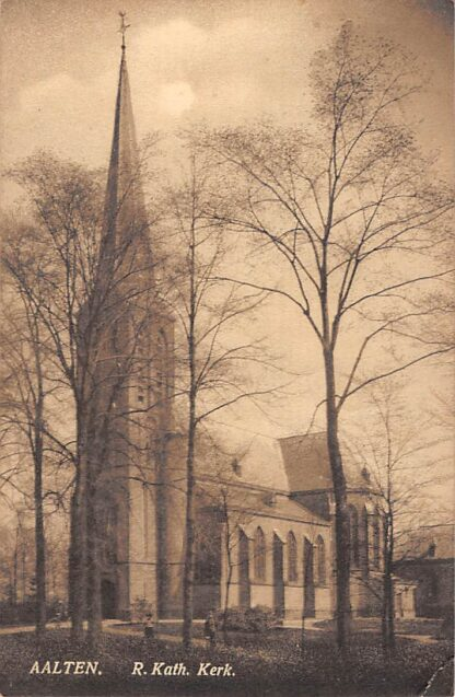 Ansichtkaart Aalten R. Kath. Kerk 1920 HC4985