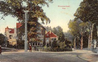 Ansichtkaart Bloemendaal Dorp 1912 HC5006