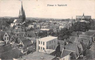 Ansichtkaart Alkmaar in Vogelvlucht 1910 HC5016