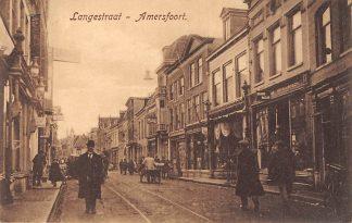 Ansichtkaart Amersfoort Langestraat 1918 HC5035