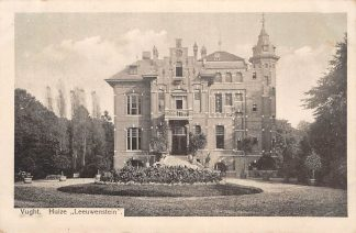 Ansichtkaart Vught Huize Leeuwenstein 1915 HC5038