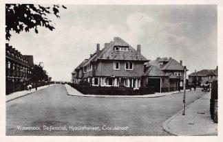 Ansichtkaart Wassenaar Deijleroord Hyacinthstraat Crocusstraat 1954 Den Haag HC5058