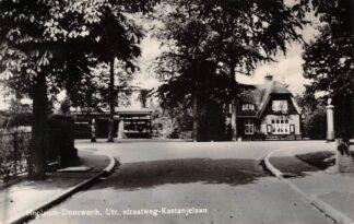 Ansichtkaart Heelsum Doorwerth Utr. straatweg Kastanjelaan eind jaren 30 HC5061