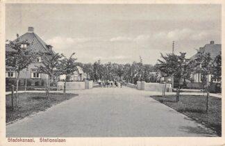Ansichtkaart Stadskanaal Stationslaan 1941 HC5068