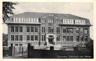 Ansichtkaart Coevorden Vakschool voor meisjes 1950 School HC5072
