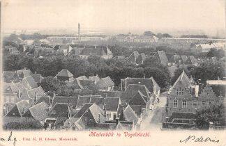 Ansichtkaart Medemblik in Vogelvlucht 1903 HC5078