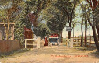 Ansichtkaart Zandvoort Tol Zandvoorderlaan 1912 HC5090
