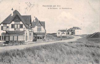Ansichtkaart Noordwijk aan Zee In de Duinen Rembrandweg 1910 HC5139