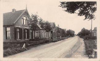 Ansichtkaart Warns Zuid einde Fotokaart 1933 Bij Stavoren Friesland HC5142