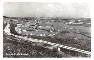 Ansichtkaart Dishoek Kampeerterrein 1953 Camping HC5165