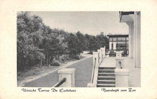 Ansichtkaart Noordwijk aan Zee Kamp hotel De Lichtboei Rembrantweg 10 1950 HC5166