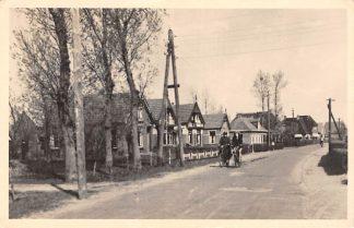 Ansichtkaart Zwaagwesteinde Voorstraat 1947 HC5169